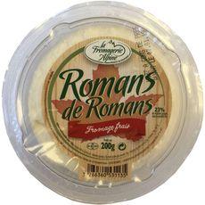 LA FROMAGERIE ALPINE Romans de Romans fromage frais 200g