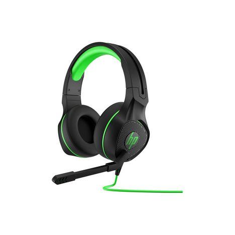 HP Casque Gaming PAVILION 4004BX31AA -Noir et vert