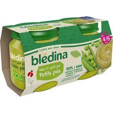 Blédina BLEDINA Mon 1er petit pot aux petits pois dès 4 mois