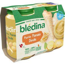 Blédina BLEDINA Petit pot purée de panais et dinde dès 6 mois