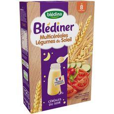 Blédina BLEDINA Céréales en poudre légumes du soleil dès 8 mois