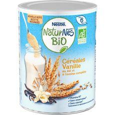 NATURNES BIO Naturnes Bio Céréales en poudre à la vanille dès 6 mois 240g 240g