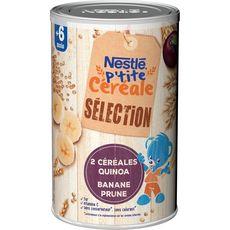NESTLE P'tite Céréale en poudre quinoa banane et prune dès 6 mois 380g