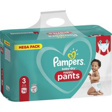Pampers PAMPERS Baby-dry Couches-culottes taille 3 (6-11kg)