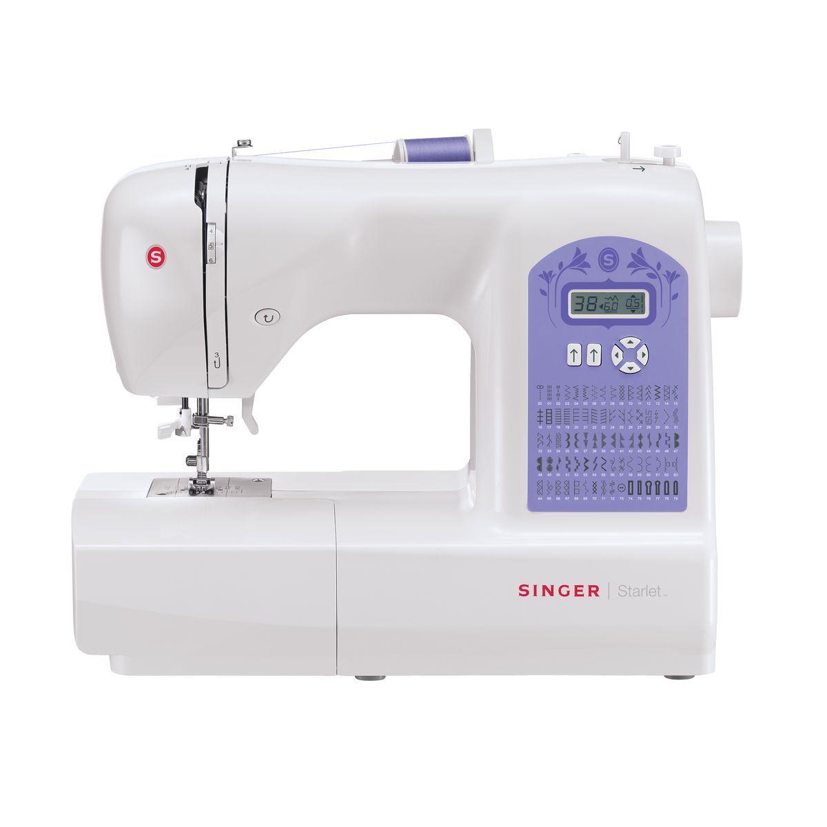 Machine à coudre STARLET 6680 - Blanc