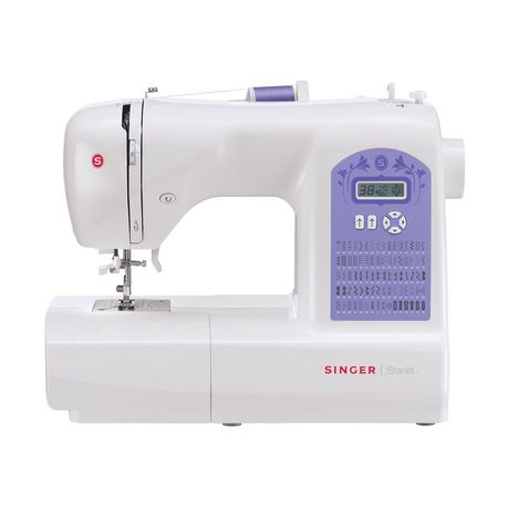 SINGER Machine à coudre STARLET 6680 - Blanc
