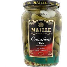 MAILLE Maille Cornichons fins cueillis main sélection grand croquant 300g 300g