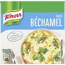 Knorr Sauce béchamel à la noix de muscade sans conservateur, en brique 50cl