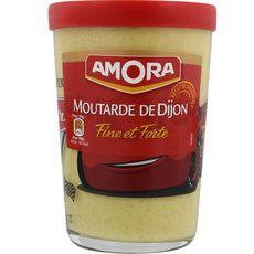 AMORA Moutarde de Dijon fine et forte 195g