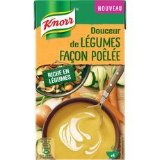 KNORR Knorr Soupe douceur de légumes façon poêlée 1l 4 personnes 1l