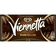 VIENNETTA Dessert glacé double chocolat 7 parts 341g