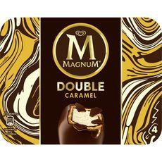 Magnum Bâtonnet glacé double caramel 292g