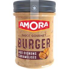 AMORA Sauce gourmet burger aux oignons caramélisés 188g