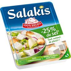 SALAKIS Fromage de brebis réduit en sel 180g
