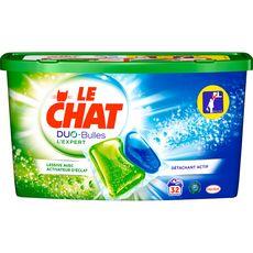 Le Chat LE CHAT Duo-Bulles lessive capsules