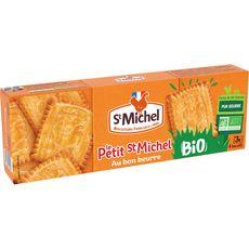 ST MICHEL Biscuits petit beurre bio sachets fraîcheur 3 sachets 144g