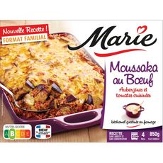 Marie MARIE Moussaka au boeuf