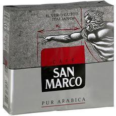 SAN MARCO Café moulu pur arabica premium 2X250g
