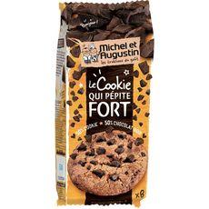 MICHEL ET AUGUSTIN Biscuits cookies aux morceaux de chocolat noir 8 biscuits 200g