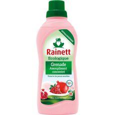RAINETT Assouplissant concentré écologique grenade peaux sensibles 31 lavages 750ml