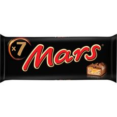 MARS Barres chocolatées au caramel 7 barres 315g