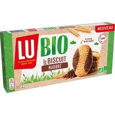 LU Biscuits marbrés au cacao bio sachets fraîcheur 6 sachets 144g