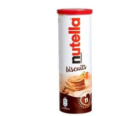 NUTELLA Biscuits tube 12 pièces 166g