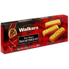 Walkers Pure butter shortbread, biscuits sablés pur beurre 125g