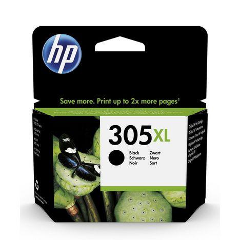 HP Cartouche d'Encre HP 305XL Noire grande capacité Authentique (3YM62AE)