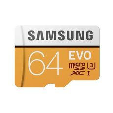 SAMSUNG MICROSD 64GO EVO avec Adaptateur
