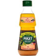 PUGET Vinaigrette huile d'olive vierge extra ail piment de Cayenne 33cl