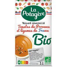 LA POTAGERE Velouté tomates de Provence et légumes de France bio 4 personnes 1l