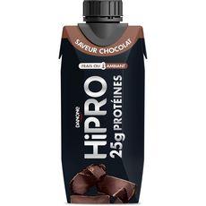 Hipro Yaourt à boire protéiné aromatisé au chocolat 345g