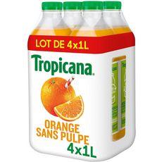 Tropicana TROPICANA Jus pure premium 100% orange sans pulpe