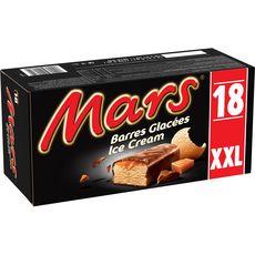 MARS Barre glacée nappée de caramel enrobé de chocolat 18 pièces 752.4g