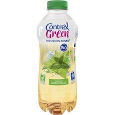 CONTREX Green boisson bio originale aromatisée et infusion de maté 75cl