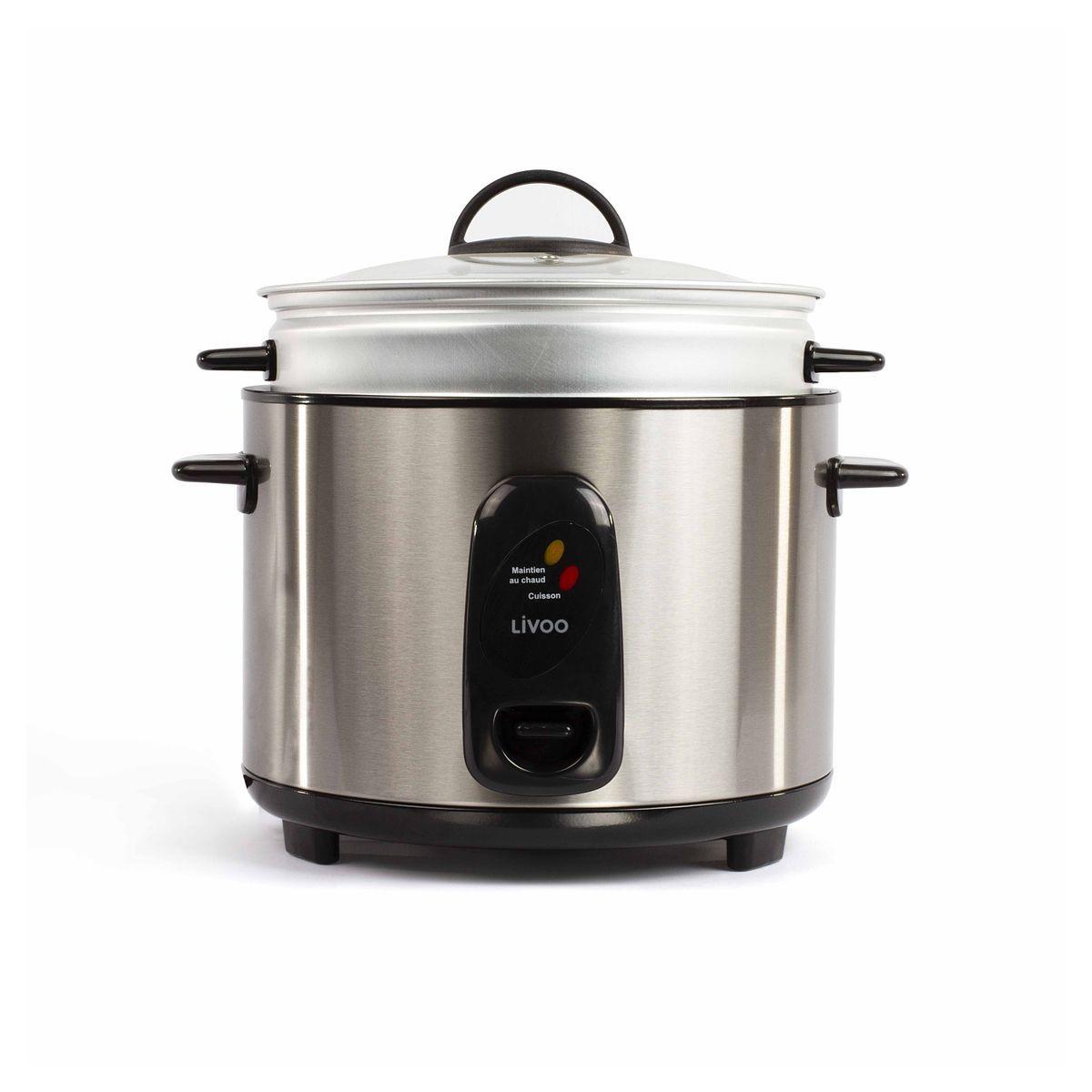 Cuiseur à riz et vapeur DOC192 - Argent