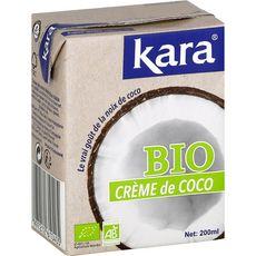 KARA Crème de coco bio 200ml