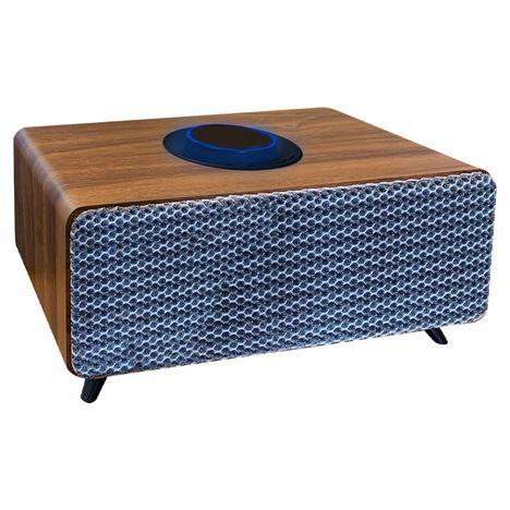 BLAUPUNKT Enceinte vintage compatible Bluetooth - BLP Vintage - Boîtier bois et finition textile