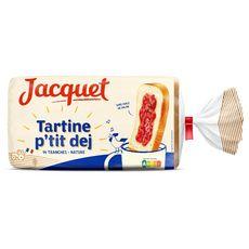 JACQUET Tartines p'tit déj nature 14 tranches 410g