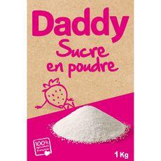 DADDY Sucre en poudre 1kg