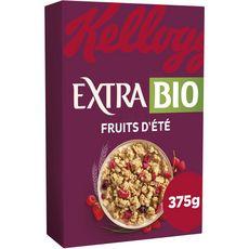 KELLOGG'S Extra Bio fruits d'été 375g