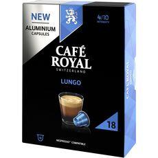 Café Royal CAFE ROYAL Capsules de café lungo compatibles Nespresso