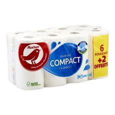 Auchan Essuie-tout compact x6+2 offerts