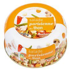 AUCHAN Salade parisienne au thon 250g