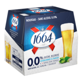 1664 1664 Bière blonde sans alcool bouteilles 12x25cl