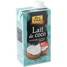 REAL THAI Lait de coco UHT 500ml