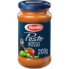 BARILLA Sauce pesto rosso au vinaigre balsamique de Modène, en bocal 200g