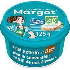 FROMAGE DE MARGOT Fromage nature bio à tartiner 125g