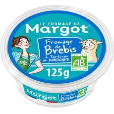 FROMAGE DE MARGOT Fromage frais bio au lait de brebis 125g